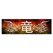 Funny Funny year of the dragon Bumper Sticker