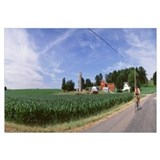 Bicyclist Farm WI