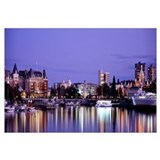 Night Victoria British Columbia Canada