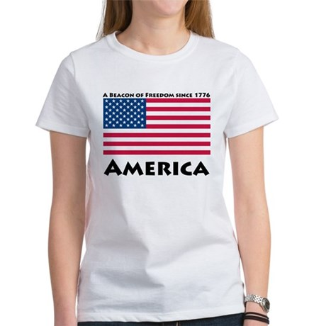 America Freedom Women's T-Shirt