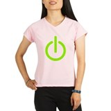 Power Button Performance Dry T-Shirt
