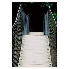 Empty footbridge, Nashville, Tennessee