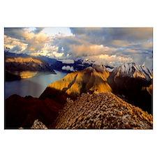 Lake Hawea South Island New Zealand