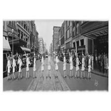 Fox Roller Skating Girls, Washington DC 1929