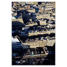 Aerial view of a city, Manhattan, New York City, N