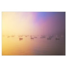 Morning Fog Chatham Harbor Cape Cod MA