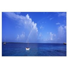 Sailboat Bonaire Netherlands Antilles