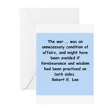 robert e lee Greeting Cards (Pk of 10)