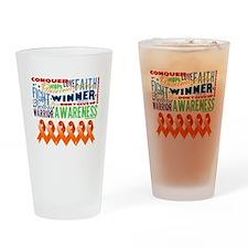 Powerful Leukemia Drinking Glass