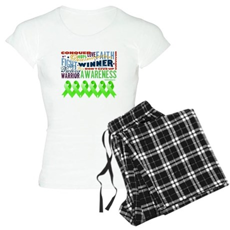 Non-Hodgkins Lymphoma Women's Light Pajamas