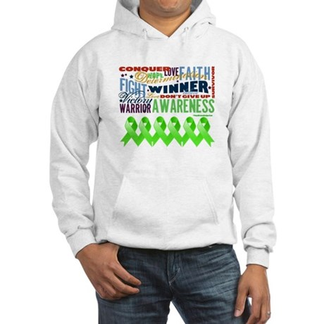 Non-Hodgkins Lymphoma Hooded Sweatshirt