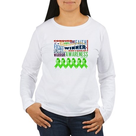 Non-Hodgkins Lymphoma Women's Long Sleeve T-Shirt
