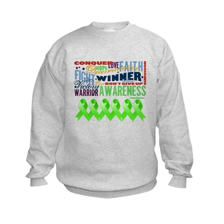 Non-Hodgkins Lymphoma Kids Sweatshirt