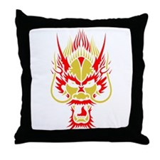 Dragon Face 2012 Throw Pillow