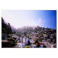 Cityscape, Sausalito, Marin County, California