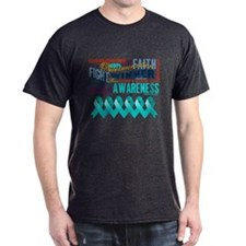 Powerful Peritoneal Cancer T-Shirt