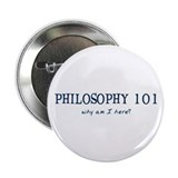 Philosophy 101 Button