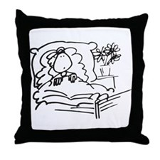 Get well Throw Pillow