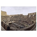 Old ruins of an amphitheater, Coliseum, Rome, Ital