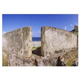 Old ruins of a castle at the seaside, Castillo De