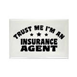 Insurance Agent Rectangle Magnet