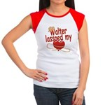 Walter Lassoed My Heart Women's Cap Sleeve T-Shirt