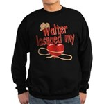 Walter Lassoed My Heart Sweatshirt (dark)