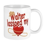Walter Lassoed My Heart Mug