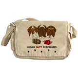 Nothin' Butt St Bernards Messenger Bag