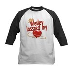 Wesley Lassoed My Heart Kids Baseball Jersey