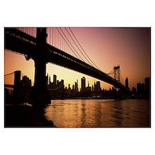 Bridge, Manhattan Bridge, Lower Manhattan, New Yor