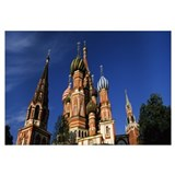 Cathedral, St. Basil's Cathedral, Red Square, Mosc