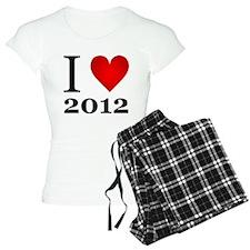 I Love 2012 Pajamas