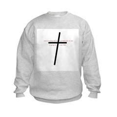 Jesus is coming back Kids Sweatshirt