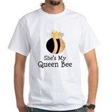 She's My Queen Bee Couples Shirt