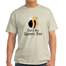 She's My Queen Bee Couples T-Shirt