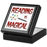 Reading is Magical Keepsake Box