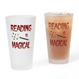 Reading is Magical Drinking Glass