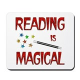 Reading is Magical Mousepad