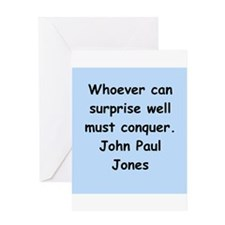 john paul jones Greeting Card