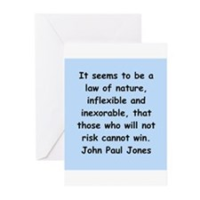 john paul jones Greeting Cards (Pk of 10)