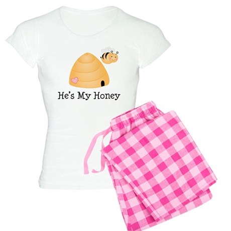 He's My Honey Couples Women's Light Pajamas