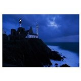 Lighthouse at the seaside, Pointe Saint Mathieu, F