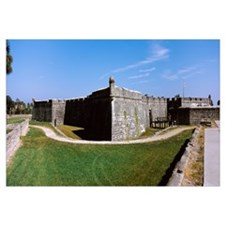 Outer wall of a fort, Castillo De San Marcos Natio