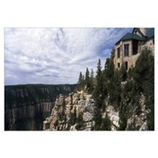 Building, Grand Canyon Lodge, Bright Angel Point,