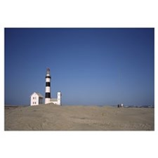 Lighthouse on the beach, Cape Recife Lighthouse, P