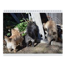 Cairn Terrier at Loch Duich Wall Calendar
