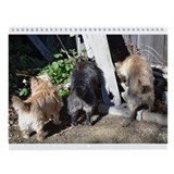 Cairn Terrier Loch Duich Wall Calendar