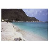 Hill on the coast, Philipsburg, Sint Maarten, Neth