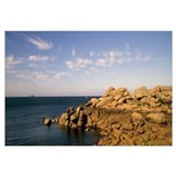 Rocks on the coast, Ploumanach, Brittany, France